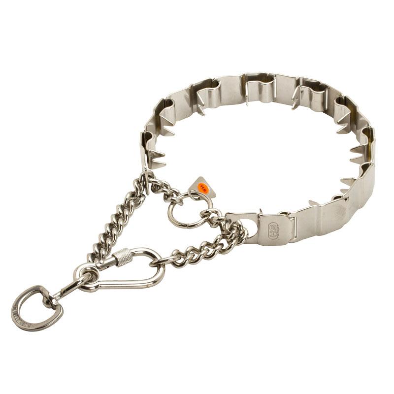 Collier chien torquatus en inox «Technologie de formation