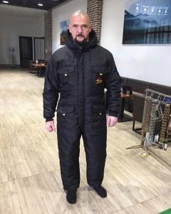Combinaison de protection d hiver pour maître chien «Pas froid» e60cae7bd88